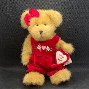 "Boyds Bears ""Miss Hugaby"" Valentine Bear"